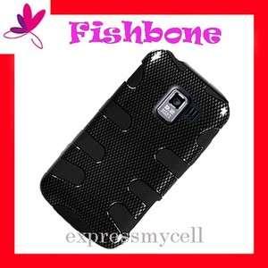FISHBONE Impact Hybrid Case Cover NET 10 Straight Talk LG OPTIMUS Q