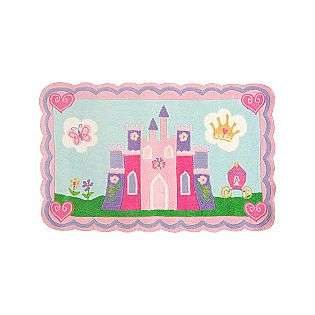 Disney Princess Castle Area Rug   5x7  For the Home Rugs Various