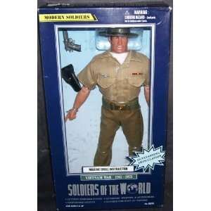 Vietnam War Marine Drill Instructor 12 Action Figure Toys & Games