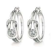 75 ct. t.w. Everlon™ Diamond Earrings (I, I1)   Sams Club