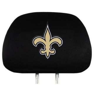 Orleans Saints NFL Headrest Covers (2 Pack) Covers