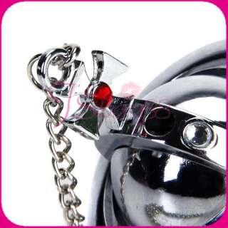Globe Shaped Pendant Lighter Chain Necklace Birthday Xmas Gift