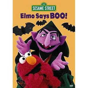 Elmo Says Boo DVD  Shop the Ticketmaster Merchandise Official Store