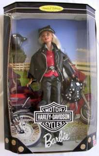 HARLEY DAVIDSON BARBIE 1997 EXCLUSIVE LE PLUSHARLEY FAT BOY