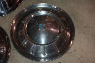 1954 Plymouth 15 HUBCAPS wheel covers