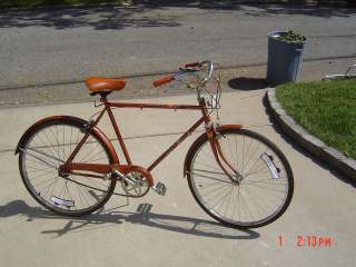Vintage huffy timberline bike, 3 speed