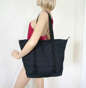 Authentic GUCCI BLACK GG Business Tote, Travel Bag, Handbag, Shopper