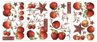 BERRIES WALL DECALS Stickers Kitchen Decorations 034878677613