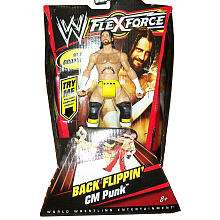 WWE FLEXFORCE Action Figure   Back Flippin CM Punk   Mattel   ToysR
