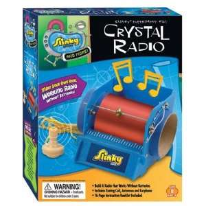 Poof Slinky 02012 Crystal Radio Kit: Home & Kitchen
