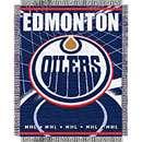 Northwest Edmonton Oilers Triple Woven Jacquard 48x60 Blanket   Toys