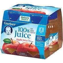 Gerber Juice Apple   4Pk   Nestle   BabiesRUs