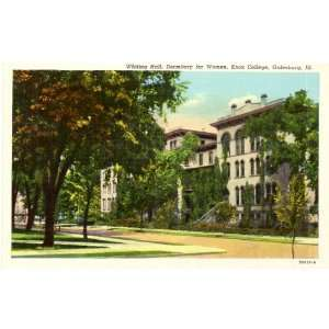 Whiting Hall   Dormitory for Women   Knox College   Galesburg Illinois