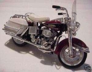 1968 Harley Davidson Electra Glide   118 (Maroon)