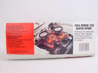 Lindberg 1964 Dodge 330 Color Me Gone Model Kit 72156
