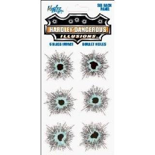 Bullet Holes Vinyl Decal Kit: Automotive