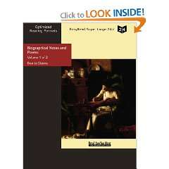: Biographical Notes and Poems (9781427023339): Bronte Sisters: Books