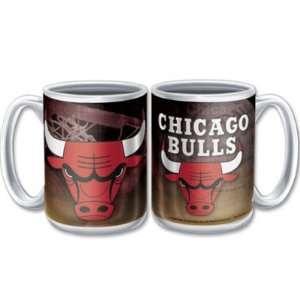 CHICAGO BULLS 15OZ CERAMIC COFFEE MUG Sports & Outdoors
