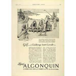 1925 Ad Hotel Algonquin Canadian Pacific St. Andrews New Brunswick
