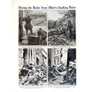 1919 WORLD WAR CANADIAN SOLDIERS GUN FRANCE BRITISH
