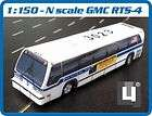 scale 1/150 GMC RTS MTA New York City Bus ( 3 model kits )