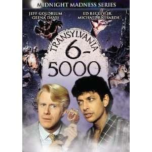 5000 Jeff Goldblum, Carol Kane, Ed Begley Jr., Geena Davis, Michael