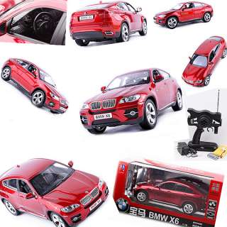 10 BMV Car Model With Remote Control Red Full Function Toys k0088