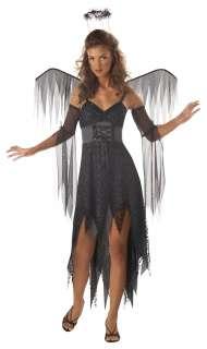 Wicked Angel Dark Evil Fallen Wings Teen Costume