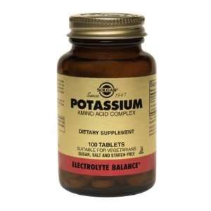 Potassium Amino Acid Complex 250 Tablets: Health