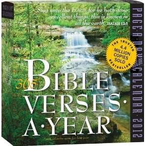 365 Bible Verses Page A Day 2012 Desk Calendar Office