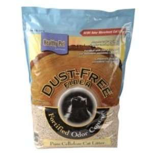 Healthy Pet Dust Free Fiber Pellets Cat Litter: Pet Supplies