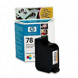 No. 78XL C6578AN Tri Color Inkjet Cartridge  HP Computers