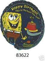 18 SPONGEBOB SQUAREPANTS BIRTHDAY MYLAR BALLOON