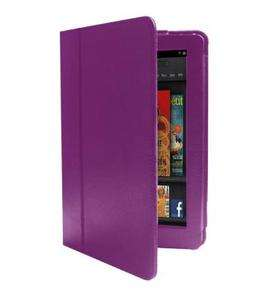 New PU Leather Folio Stand Case Cover for  Kindle Fire 7 Tablet