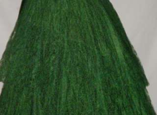 Martins Emerald Green Tea Length Party Prom Dress, Size S or 6