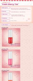 ETUDE HOUSE] Fresh Cherry Tint 9.5g   #3 Cherry Peach