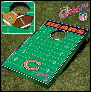 Chicago Bears NFL Tailgate Toss Bean Bag Cornhole Baggo Game