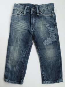 Baby Gap NWT Boy Embroidered Dragon Jeans Denim Pants 18 24 2 3 4 5 2T