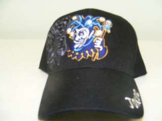 JOKER BLACK HAT BALL CAP EMBROIDERED SHADOW