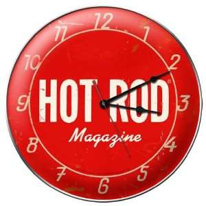 Hot Rod Magazine Clock