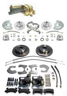 Mopar B E Body Power 4 Wheel Disc Brake Kit Brakes
