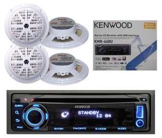 Kenwood 200 Watt CD AM FM USB Aux iPod iPhone Marine Boat Yacht Radio