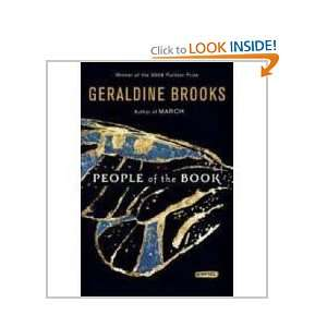 People of the Book Geraldine Brooks Books