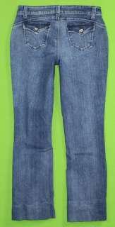 Trouble sz 9 x 28 Stretch Womens Juniors Blue Jeans Denim Pants GM50