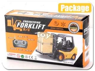 RC Mini Engineering Forklift Radio Remote Control Truck