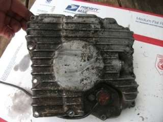 1981 Yamaha Maxim XJ 550 XJ550 engine oil pan cover