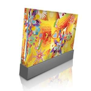 Wall Flower Design Skin Decal Sticker for Nintendo Wii