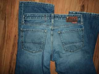 WOW~ FROM BUCKLE BIG STAR SZ 30 R X 32 ROADIE MENS JEANS , SUPER HOT