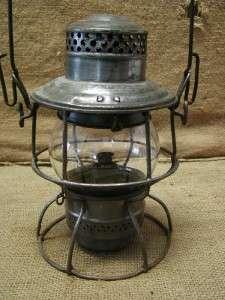 Vintage Union Pacific Railroad Lantern  Antique Old UP |