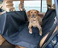HAMMOCK STYLE PET DOG CAR SEAT COVER FOR A CLEAN CAR & A SAFE PET